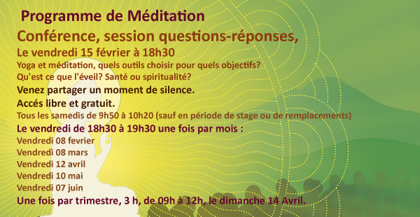 programme méditation